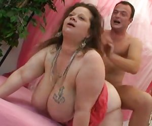 BBW chubby y enorme boobs30 caídos