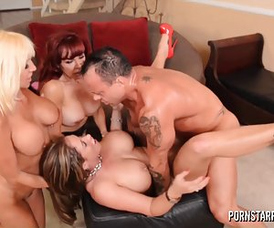 Pornstarplatinum videos pono de putas - eva notty, tara holiday y sexy vanessa
